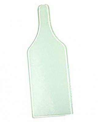 Доска стеклянная Бутылка 31,2х11,2см