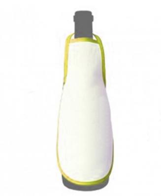 Фартук на бутылку желтый
