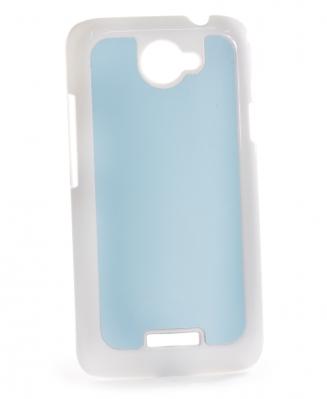 Чехол HTC One X пластиковый белый