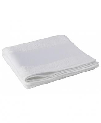 Полотенце махровое белое 50х100см