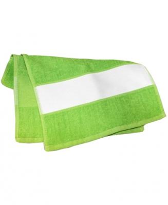 Полотенце махровое зеленое 50х100см