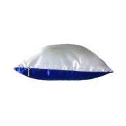 Подушка синяя 25х25см