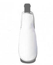 Фартук на бутылку серый