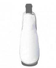 Фартук на бутылку белый