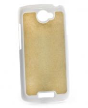 Чехол HTC One S пластиковый белый