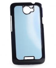 Чехол HTC One X+ пластиковый черный