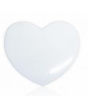 Магнит деревянный сердце 9,5х9,5см