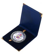 Шкатулка для медали синяя