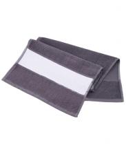Полотенце махровое темно-серое 30х70см