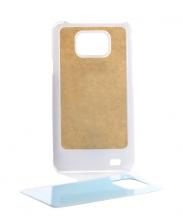 Чехол Samsung GalaxyS2 i9100 белый пластик