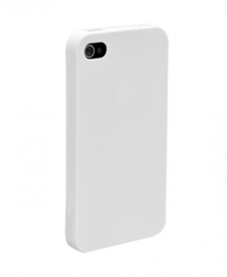 Чехол-бампер для IPhone 4, 4S силиконовый черный