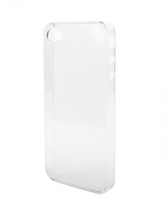 Чехол для IPhone 4, 4S пластиковый прозрачный