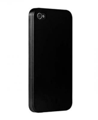 Чехол для IPhone 4, 4S пластиковый черный