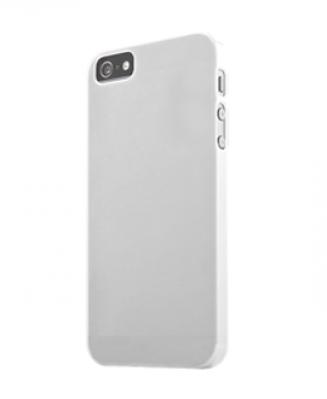 Чехол-бампер для IPhone 5, 5S силиконовый белый