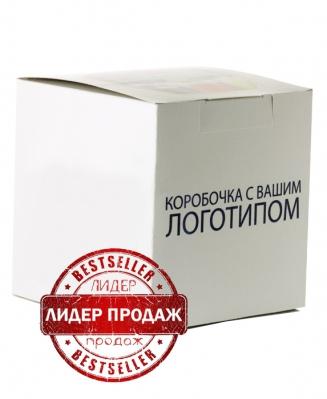 Коробка белая с нанесением