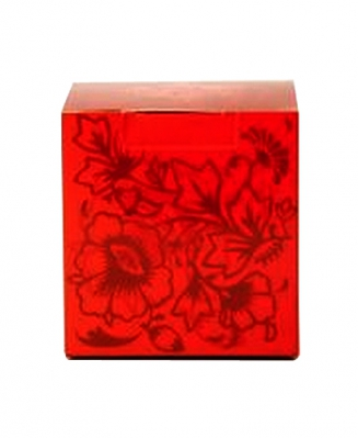Коробка красная с лаком