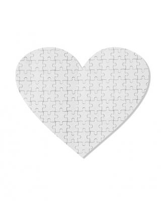 Пазл картонный Сердце