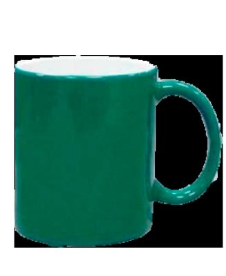 Кружка хамелеон, зеленая