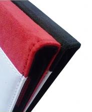 Чехол-книжка IPad 2,3,4 кожаный красный