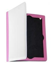 Чехол-книжка IPad 2,3,4 кожаный розовый
