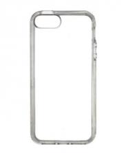 Чехол-бампер для IPhone 5, 5S силиконовый прозрачный