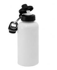 Фляжка с крышкой для питья белая