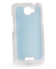 Чехол HTC One X+ пластиковый белый