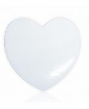 Магнит виниловый сердце 6х9см