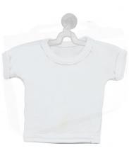 Минифутболка белая на присоске