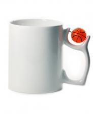 Кружка с баскетбольным мячом