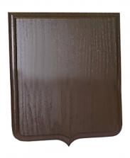 Плакетка для таблички Герб черное дерево, 23х32 см