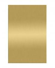 Табличка металлическая, золотая, А6/А5/А4/А3