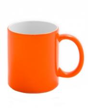 Кружка хамелеон, оранжевая