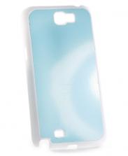 Чехол Samsung Galaxy Note 2 n7100 белый пластик