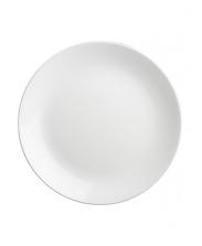 Тарелка белая, d=20/25 см