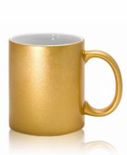 Кружка золотая
